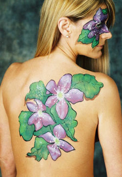 face body painting